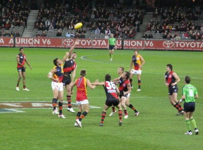 Australian Rules Football - Photo by markehr. Used with permission. All rights reserved. Source: flickr